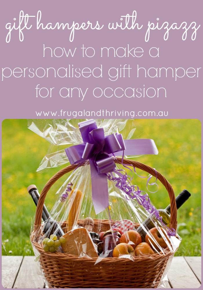 How to make a personalised gift hamper for any occasion how to make a personalised gift hamper negle Images