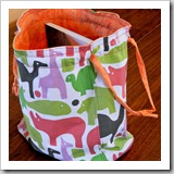 Knitting bag by Versus | Bag Tutorial Round up | Frugal and Thriving