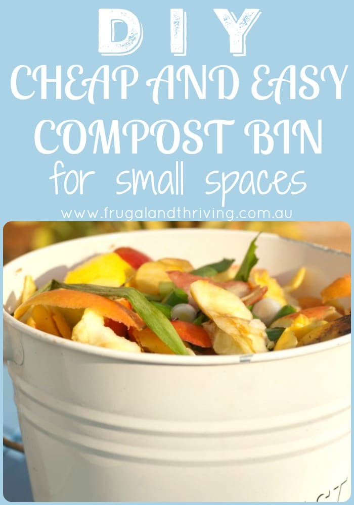Diy Cheap And Easy Small Space Compost Bin