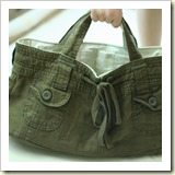 Bag from Shorts from Bethsco Blog | 45 Awesome Free Bag Tutorials | Frugal and Thriving