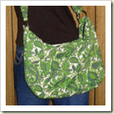 D Ring Bag From Cut out and Keep | 45 Awesome Free Bag Tutorials | Frugal and Thriving