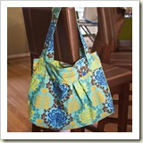 Diana Hobo Bag from Think Liz | 45 Awesome Free Bag Tutorials | Frugal and Thriving