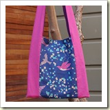 Monk bag from Purlbee | 45 Awesome Free Bag Tutorials | Frugal and Thriving