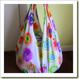 No Sew Grocery Bag from Saving with Shellie | 45 Awesome Free Bag Tutorials | Frugal and Thriving