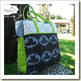 Traveler Bag from Eloisa Docton | 45 Awesome Free Bag Tutorials | Frugal and Thriving