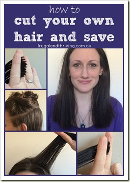 how to style cut your own hair how to cut your own hair and save 6334