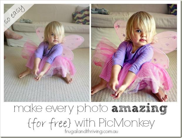Make every photo amazing with picmonkey