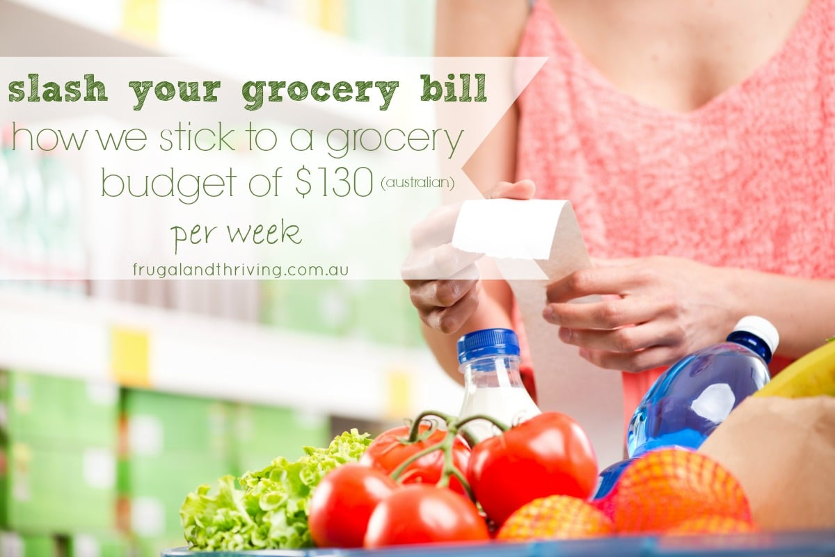 How to Slash your Weekly Grocery Budget