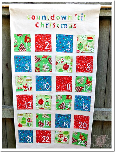 advent calendar finished