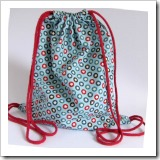 Drawstring Backpack by Handmade Kids | Bag Tutorial Roundup | Frugal and Thriving