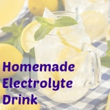 homemade electrolyte
