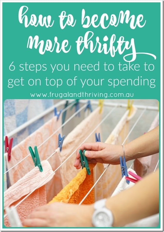 how to become more thrifty